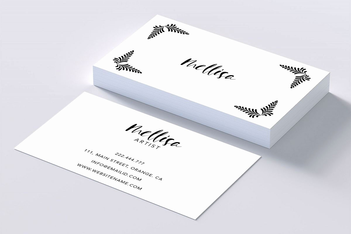 Business Cards for Artists Lovely Eye Catching Art Business Card by Creat