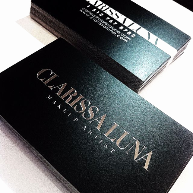 Business Cards for Artists Luxury Best 25 Makeup Business Cards Ideas On Pinterest
