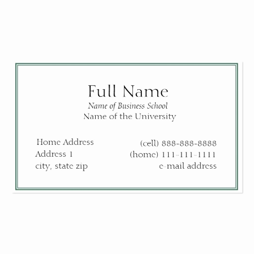 Business Cards for Students Luxury Student Business Cards 5 000 Student Busines Card