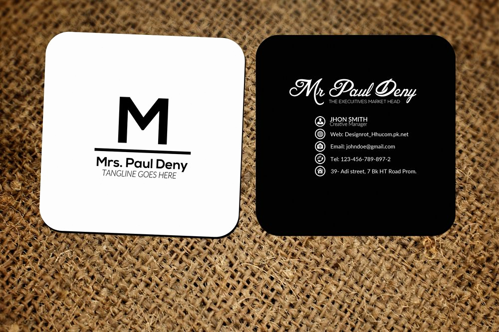 Business Cards with social Media New Small social Media Business Card by Des