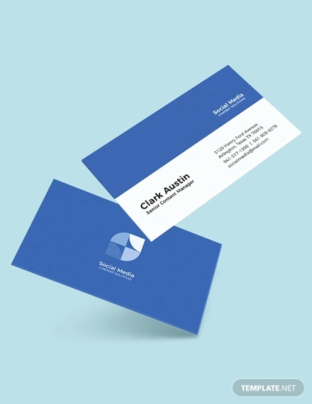 Business Cards with social Media Unique 13 social Media Business Card Templates Psd Word Ai