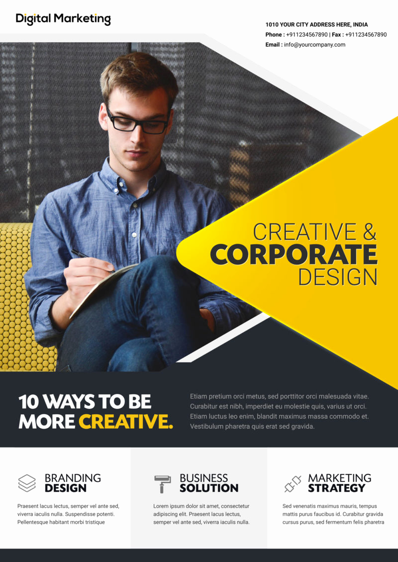 Business Flyer Templates Free Inspirational [download]free Business Flyer Template
