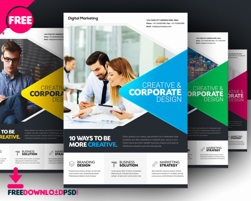 Business Flyers Template Free Beautiful [download]free Business Flyer Template
