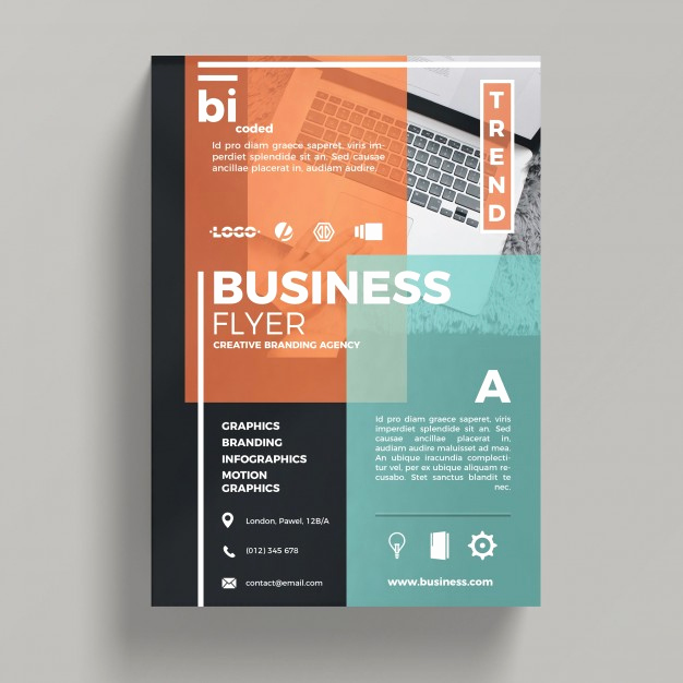 Business Flyers Template Free Best Of Abstract Corporate Business Flyer Template Psd File