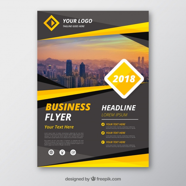 Business Flyers Template Free Elegant Flyer Vectors S and Psd Files