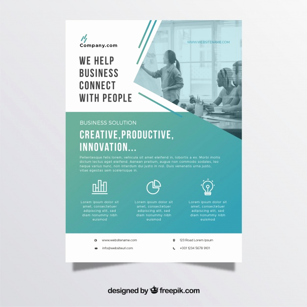 Business Flyers Template Free Fresh Professional Business Flyer Template Vector