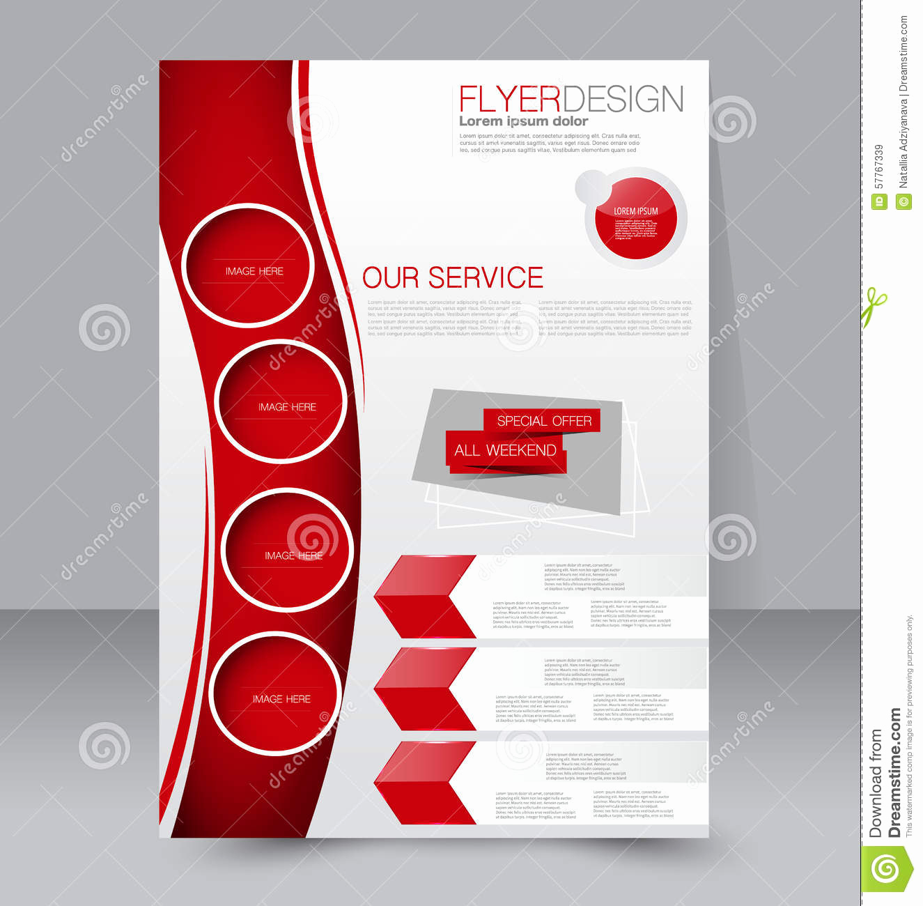 Business Flyers Template Free Inspirational Flyer Template Business Brochure Editable A4 Poster