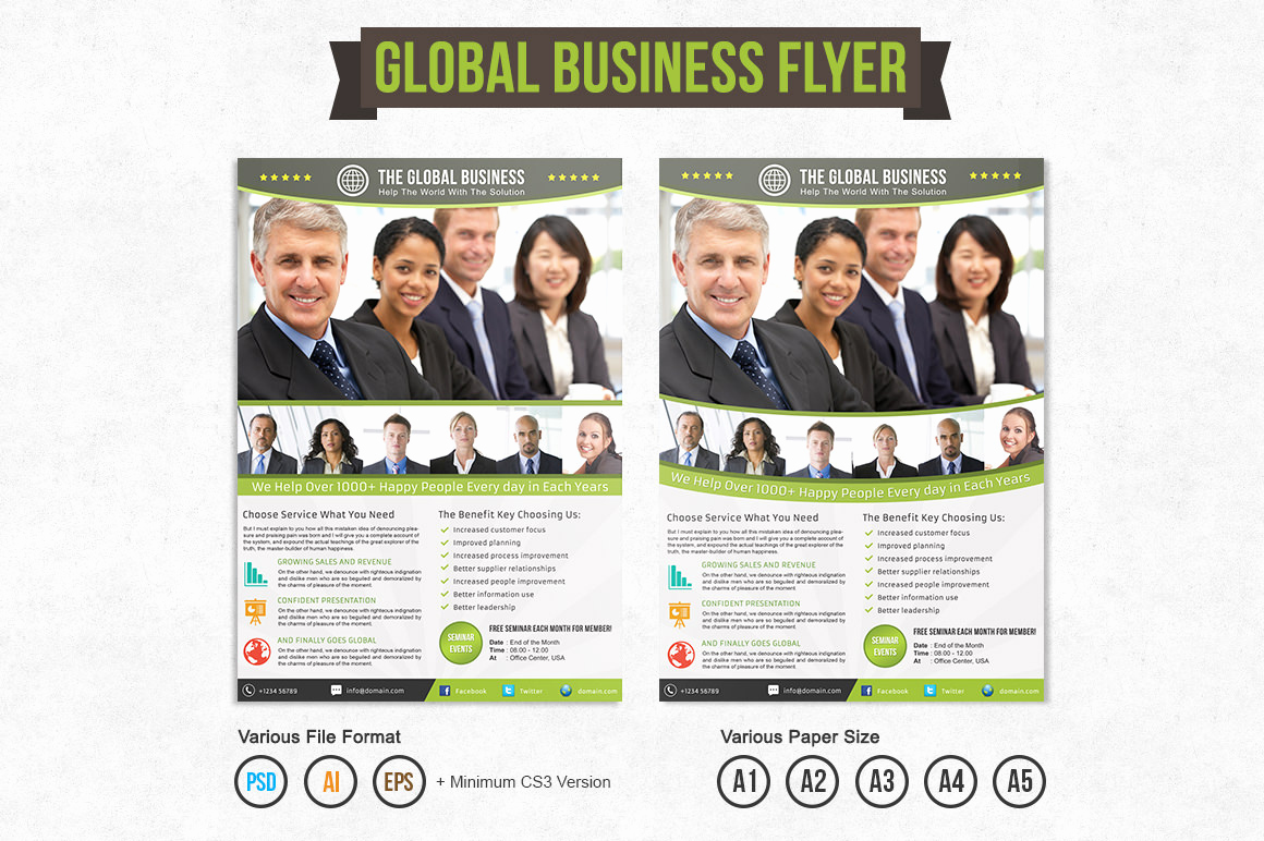 Business Flyers Template Free Inspirational Global Business Flyer Template Flyer Templates On