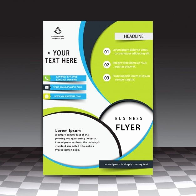Business Flyers Template Free Unique Modern Stylish Business Flyer Template Free Vector