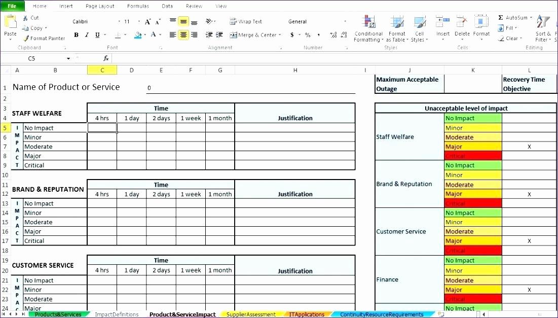 Business Impact Analysis Template Inspirational 6 Business Impact Analysis Samples – Business