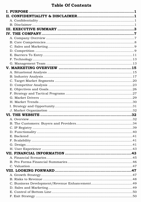 Business Plan Table Of Contents Best Of who Can Help Me Write A Business Plan True Story why
