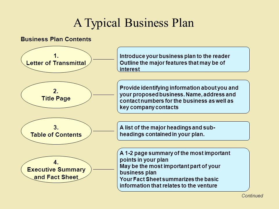 Business Plan Table Of Contents Elegant Preparing Your Business Plan Ppt Video Online