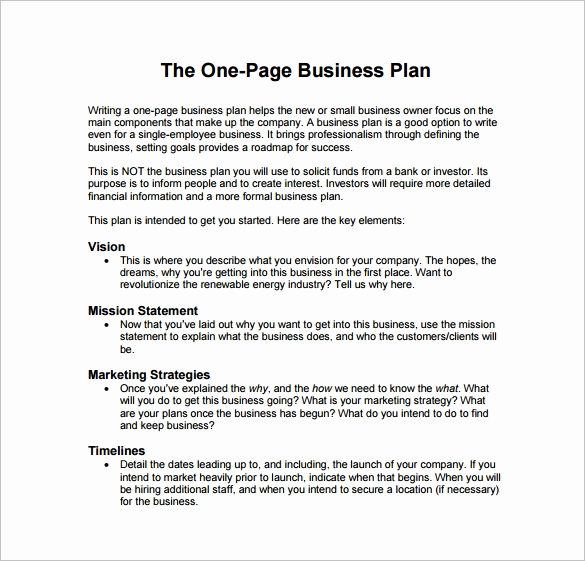 Business Plan Template Examples Elegant 29 Business Plan Templates Sample Word Google Docs