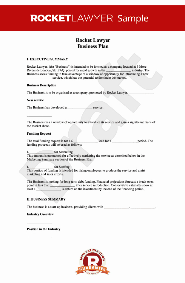 Business Plan Template Examples Elegant Business Plan Template Free How to Write A Business Plan