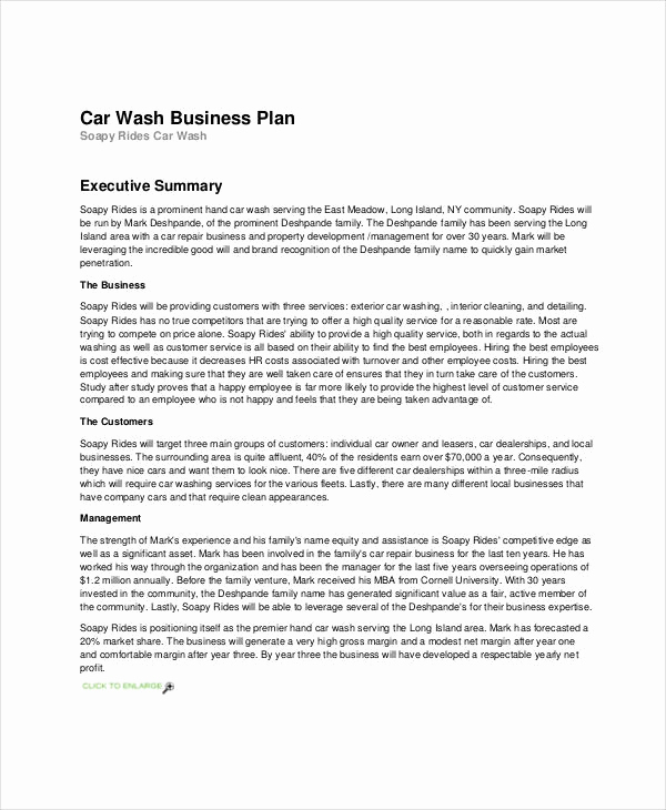 Business Plan Template Examples Inspirational 25 Simple Business Plan Examples Pdf Word Pages
