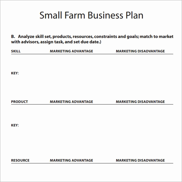Business Plan Template Examples Inspirational Sample Small Business Plan 18 Documents In Pdf Word