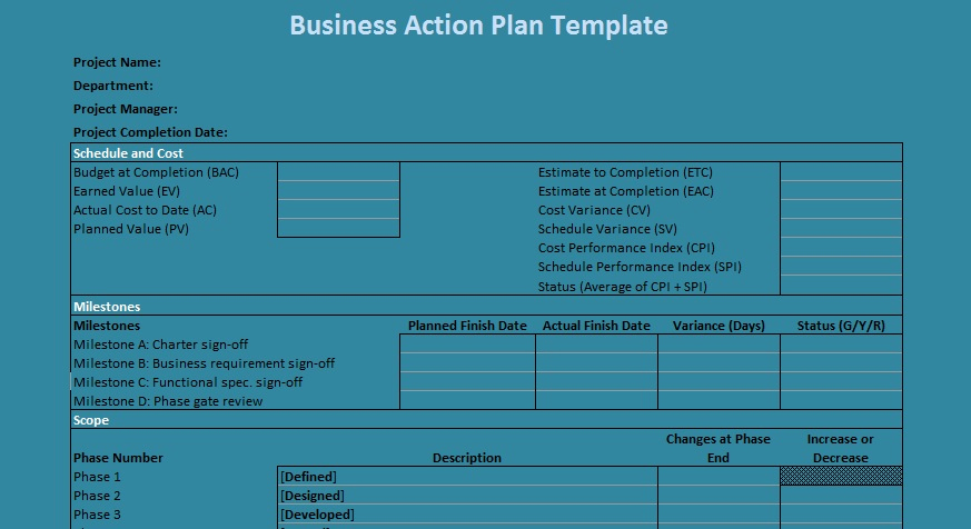 Business Plan Template Excel Elegant Business Action Plan Template Excel