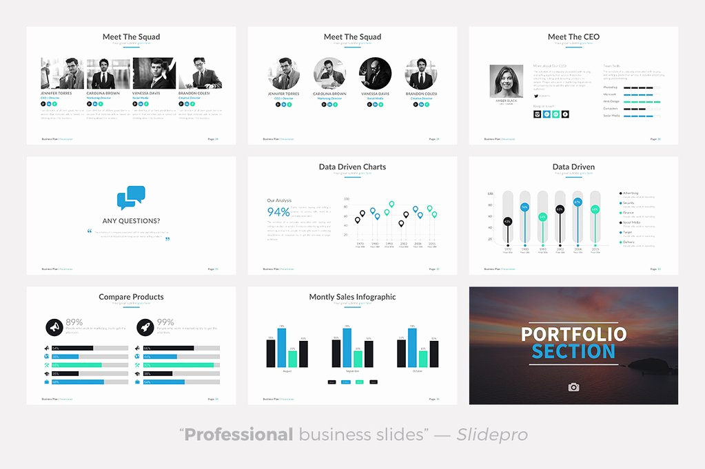 Business Plan Template Powerpoint Awesome Business Plan Powerpoint Template Presentations On