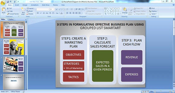 Business Plan Template Powerpoint Best Of Using Powerpoint Diagrams for Making Effective Business Plans