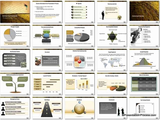 Business Plan Template Powerpoint Elegant Business Plan Powerpoint Template Set