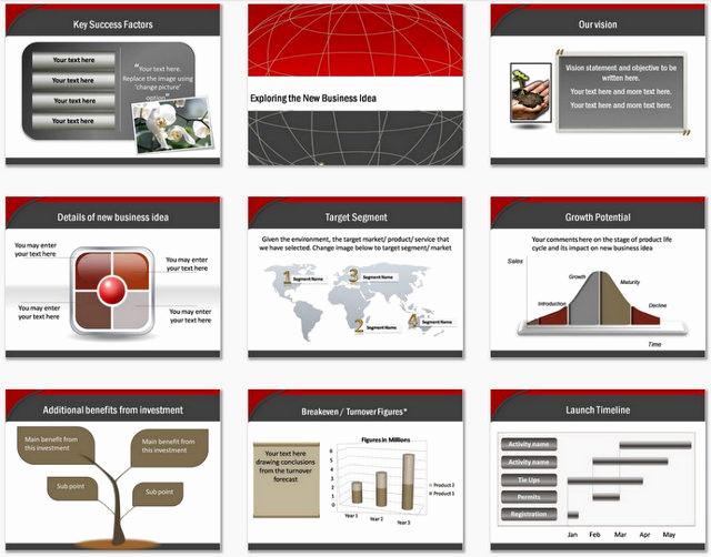 Business Plan Template Powerpoint Fresh Powerpoint Business Plan Blueprint Template