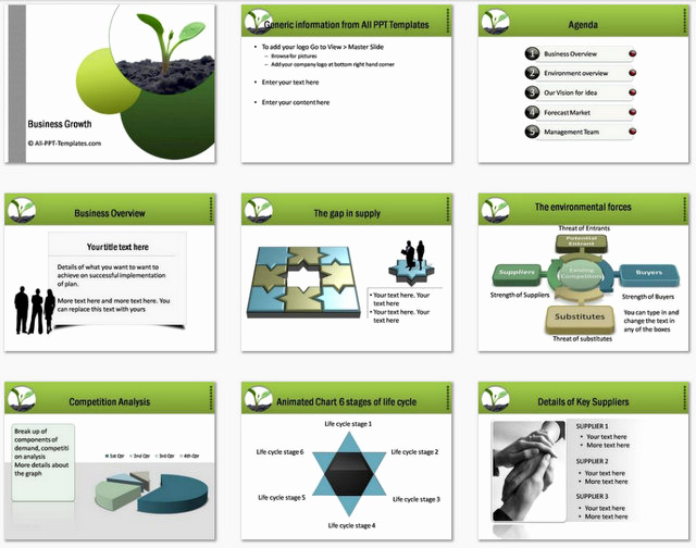 Business Plan Template Powerpoint Lovely Powerpoint Business Plan Growth Template
