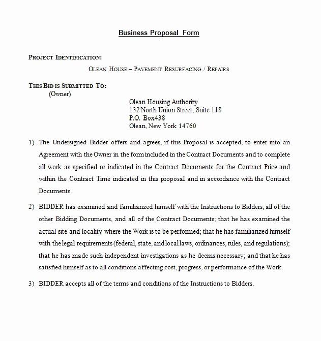 Business Proposal Sample Letter Elegant 30 Business Proposal Templates & Proposal Letter Samples