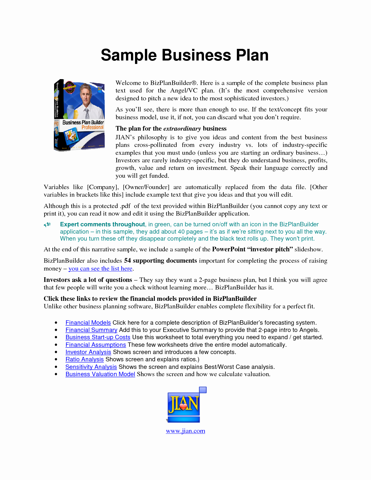 Business Proposal Sample Pdf Beautiful Free Printable Business Plan Sample form Generic