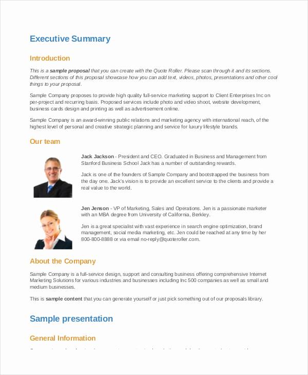 Business Proposal Sample Pdf Fresh 58 Business Proposal Examples & Samples Pdf Doc