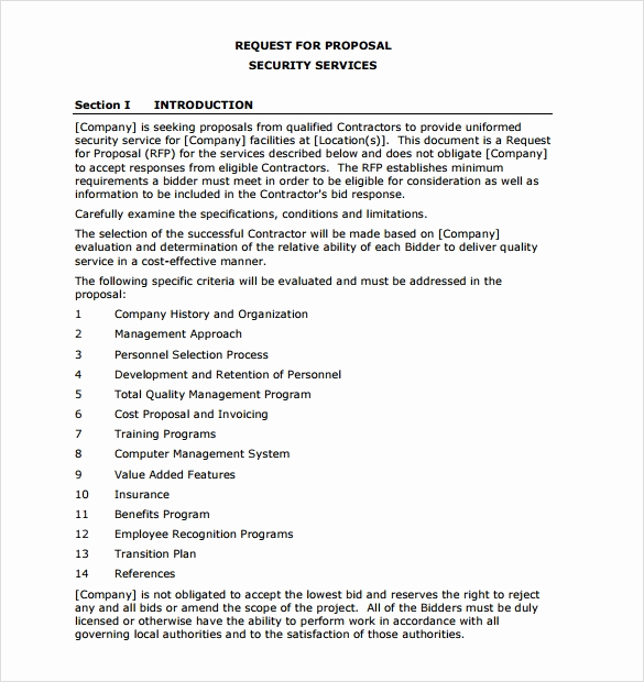 Business Proposal Sample Pdf Fresh Service Proposal Template 7 Download Documents In Pdf