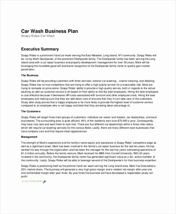 Business Proposal Sample Pdf Inspirational 12 A Business Plan Example