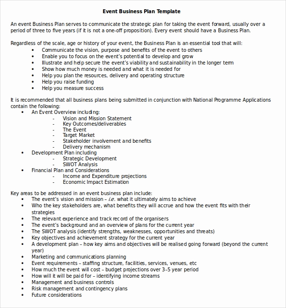 Business Proposal Template Word New Business Plan Template 47 Examples In Word