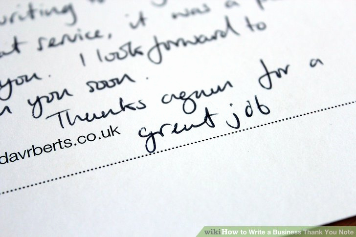 Business Thank You Notes Luxury How to Write A Business Thank You Note with Sample Notes