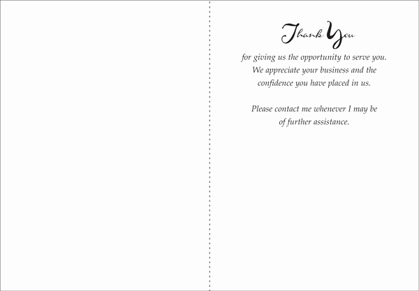 Business Thank You Notes New Quality Thank You Note for Business