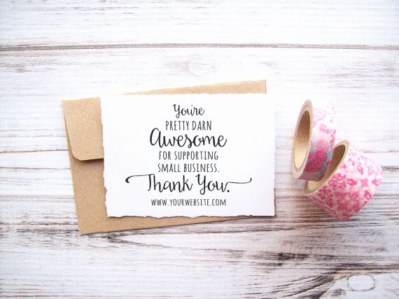 Business Thank You Notes Unique 1000 Ideas About Business Thank You Cards On Pinterest