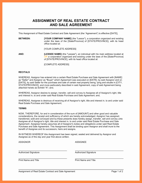 Buy Sell Agreement Template Unique 3 Real Estate Sell Agreement Template