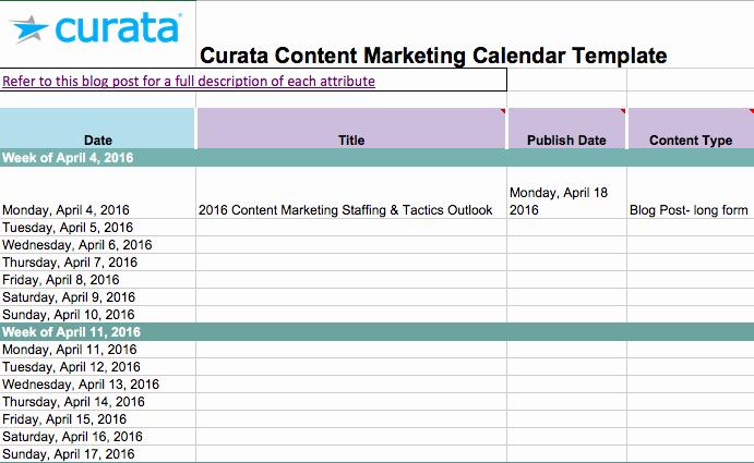 Calendar Template for Google Docs Best Of social Media Calendar Template Google Docs