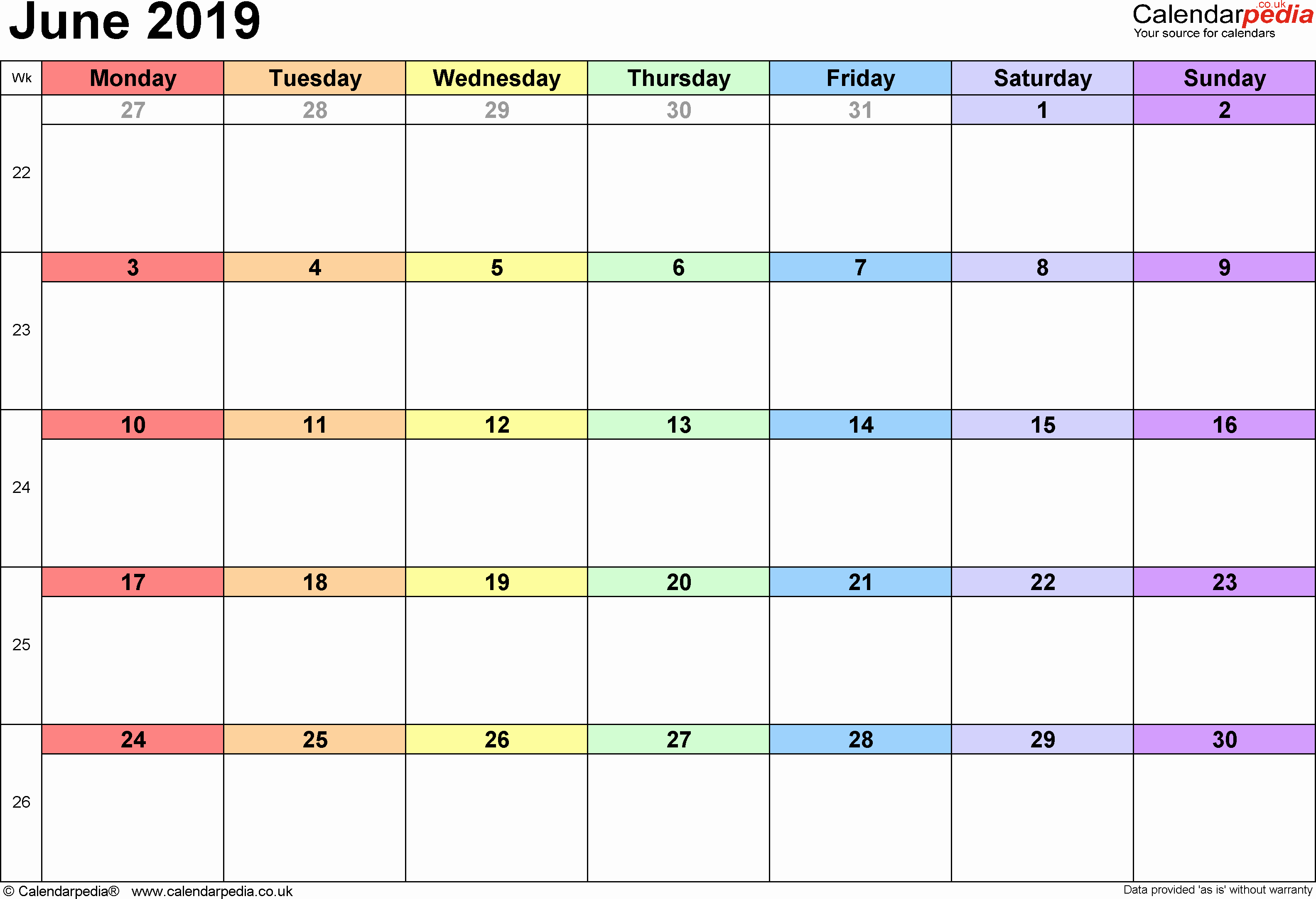 Calendar Template for Google Docs Fresh Calendar Template 2019 Google Docs