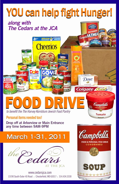 Can Food Drive Flyer Beautiful Food Drive Flyer Template Bing