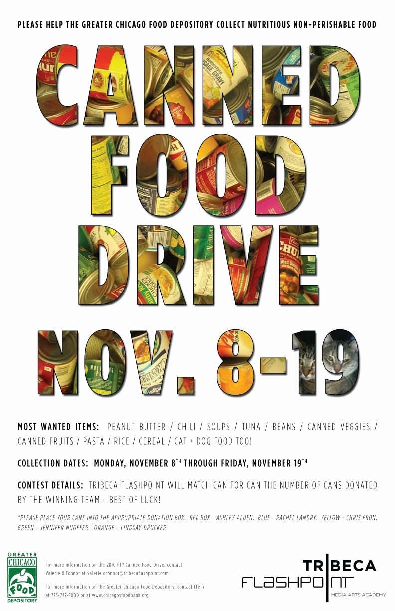Can Food Drive Flyer Lovely Foggyland A Blog From Subeternal Design Canned Food