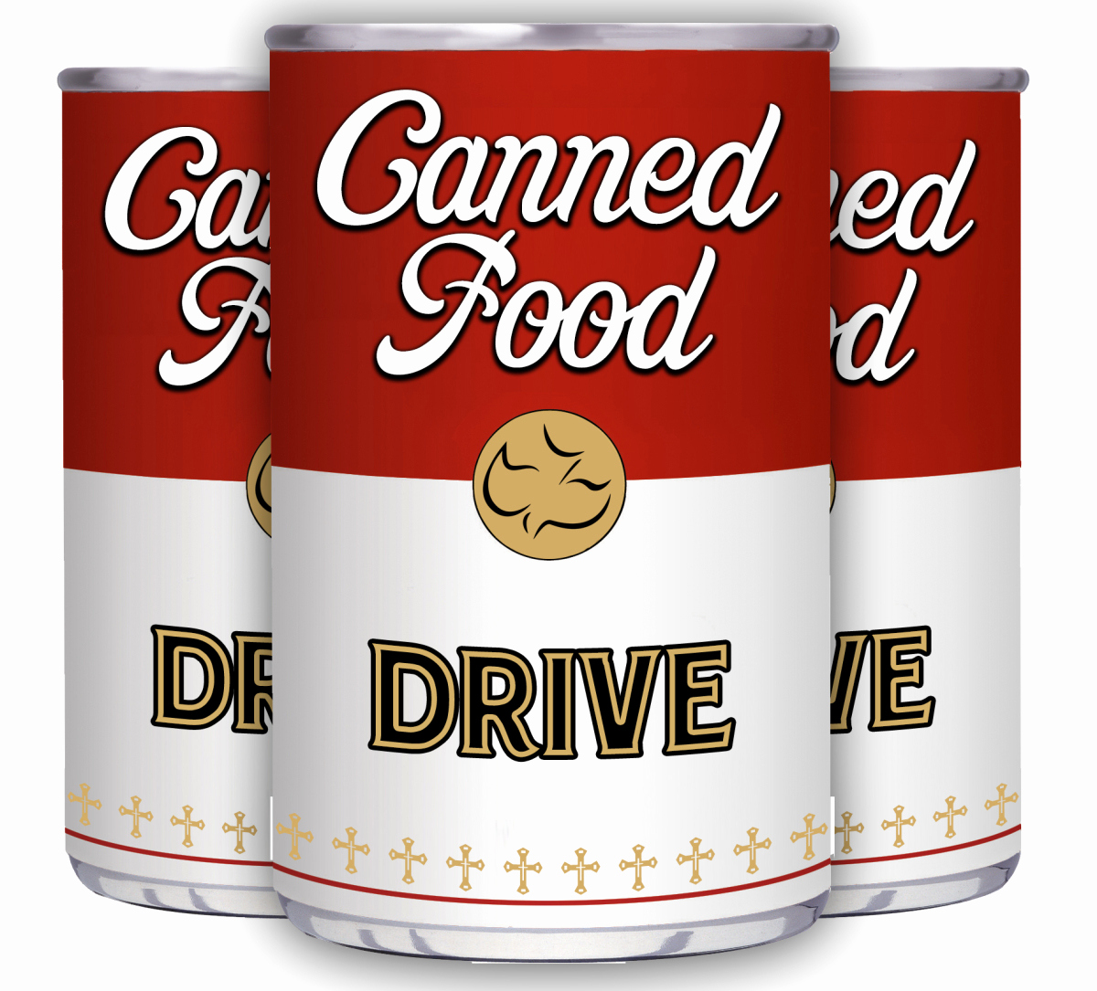 Can Food Drive Flyer New Canned Food Drive