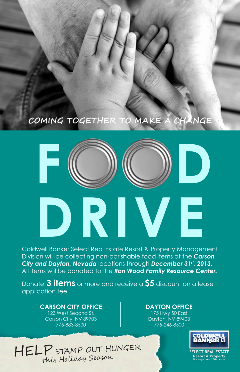 Can Food Drive Flyer Unique Food Drive Flyer