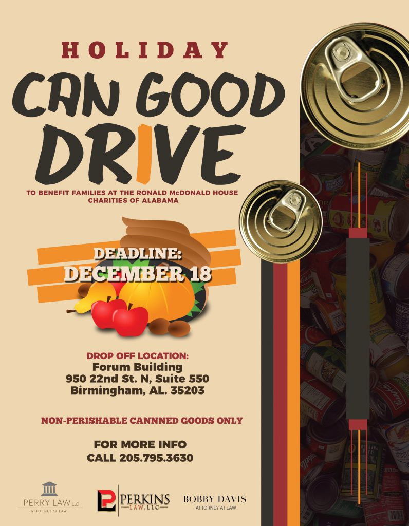 Canned Food Drive Flyer Beautiful Ronald Mcdonald House Charities Of Alabama