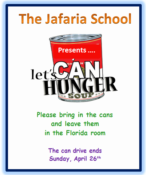 Canned Food Drive Flyer Elegant Food Drive