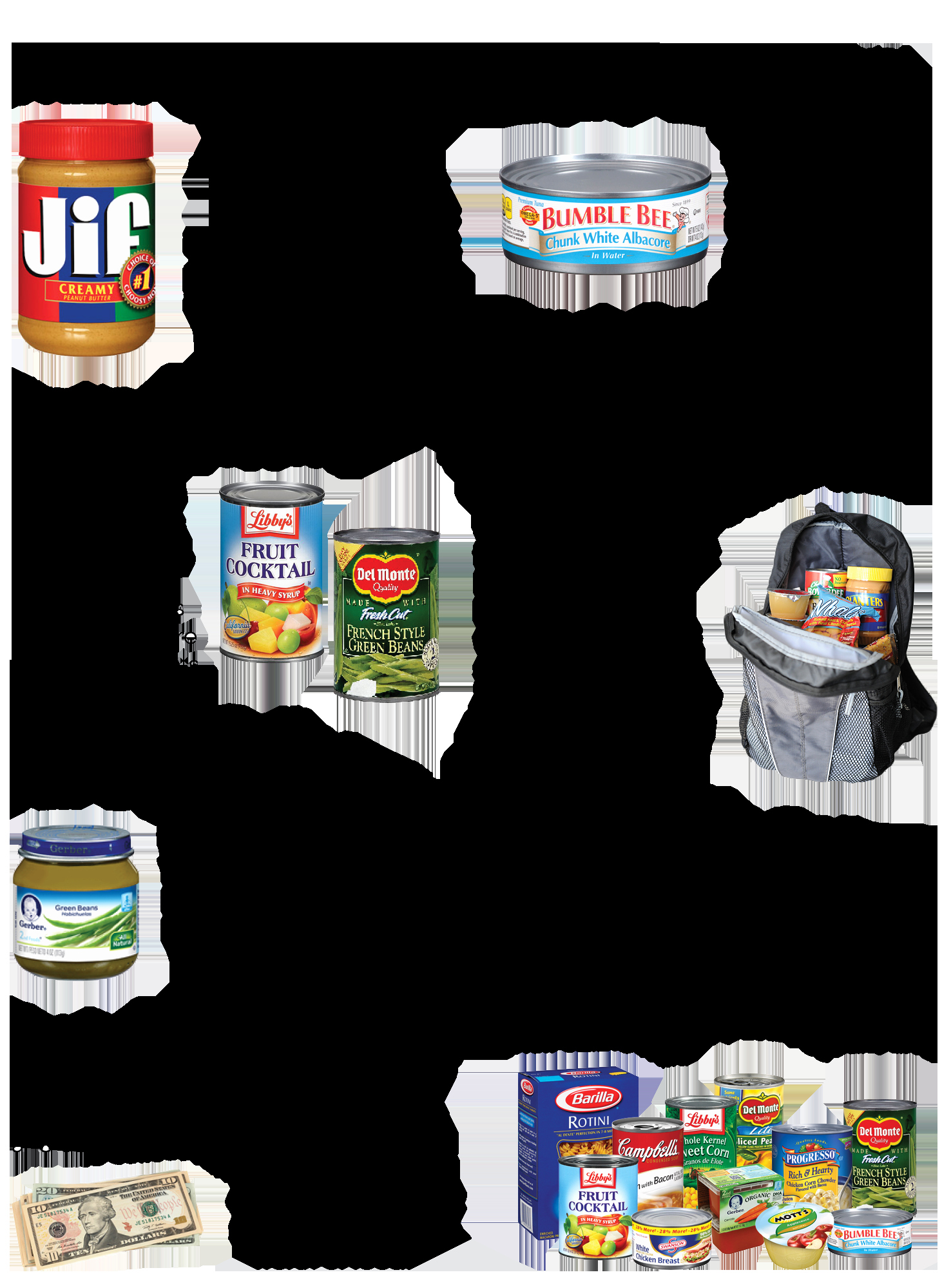 Canned Food Drive Flyer New Food and Fund Drives