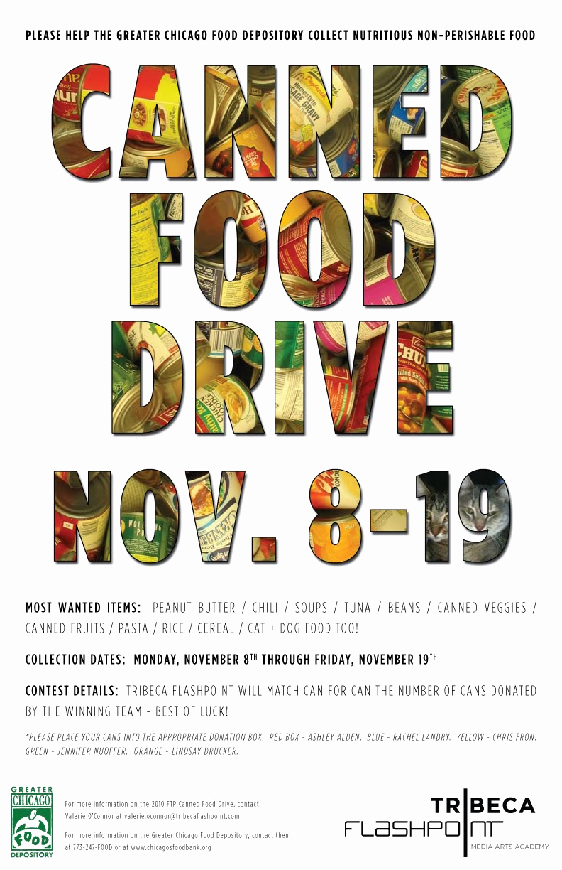Canned Food Drive Flyer Unique Foggyland A Blog From Subeternal Design Canned Food