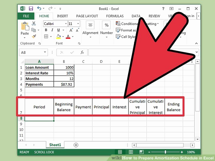 Car Loan Amortization Schedule Excel Best Of How to Prepare Amortization Schedule In Excel 10 Steps
