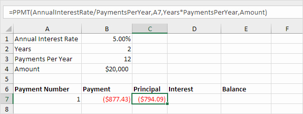 Car Loan Amortization Schedule Excel Unique Loan Amortization Schedule In Excel Easy Excel Tutorial