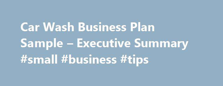 Car Wash Business Plan Beautiful 25 Best Ideas About Sample Business Plan On Pinterest