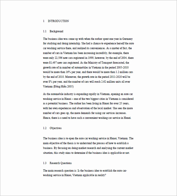 Car Wash Business Plan Luxury 16 Car Wash Business Plan Template Free Word Excel Pdf